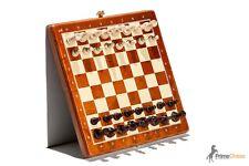 Brand New Mini Magnetic Wooden Chess Set 27cm x 27cm