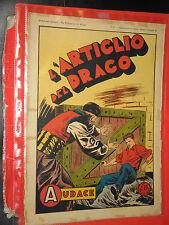 ALBO AUDACE-FURIO ALMIRANTE gigante 1946-N° 51  -giornale + DISPON- ALTRI-NO TEX