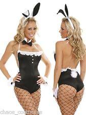 Sexy Bunny Rabbit Suit Halloween Fancy Dress Cocktail Costume 6 8 10