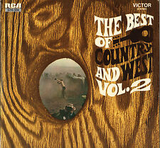 """DIVERS """"THE BEST OF COUNTRY AND WEST"""" VOL.2 60'S LP RCA VICTOR 556"""