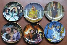 GONE WITH THE WIND >> SET OF SIX COLLECTOR PLATES