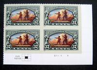 Sc # 3854 ~ Plate Block ~ 37 ct Lewis & Clark Bicentennial Issue (df11)