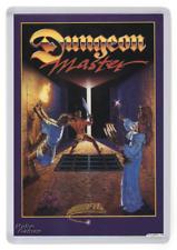 Dungeon Master Fridge Magnet. Computer Game Cover Art. Retro Gaming. Amiga