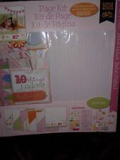 NEW - Baby Girl -  213 piece Scrapbooking Set