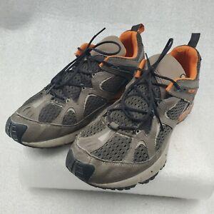 Merrell Continuum Mens Size 14 Hiking Shoes Vibram Overdrive Kangaroo & Black