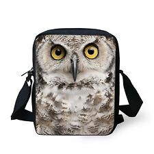 Women Girls Owl Satchel Shoulder Bag Tote Handbag Messenger Purse Hobo Bag Small