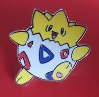 Pokemon Togepi Pin Enamel Metal Brooch Lapel Badge Cosplay Gift POGO Gaming