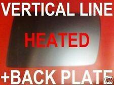 Right heated convex mirror glass Mercedes E Class W211 2003-2006 44RSH