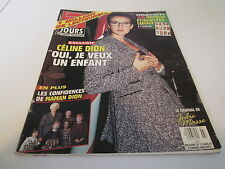 7 jours CELINE DION ON COVER MARCH 1994 CLIPPING 9 PAGES
