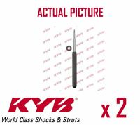 2 x FRONT AXLE SHOCK ABSORBERS PAIR STRUTS SHOCKERS KYB OE QUALITY 665010