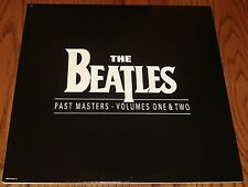 BEATLES PAST MASTERS VOLUME 1 AND 2 ORIGINAL DOUBLE LP GATEFOLD COVER 1988