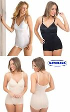 d2f6534608 Ladies Naturana 3030 Beige Black White Non Wired MOULDED Corselette Body  Shape 38 D Nude