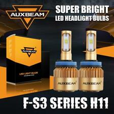 Auxbeam H11/H9/H8 72W 8000LM CSP LED Headlight High or Low Bulbs Fog Kit 6500K