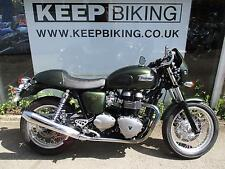 2016 TRIUMPH THRUXTON 865cc  ONLY 1012 MILES.  1 OWNER. FULL SERVICE HISTORY