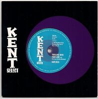 """NORTHERN SOUL 7"""" 45 - SAM DEES - TOUCH ME WITH YOUR LOVE / RUN TO ME KENT SELECT"""