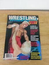 NM 1988 Wrestling Fury Magazine Classic Sting VS Ric Flair Cover WWE WWF Legends