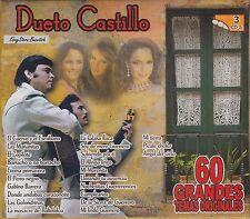DUETO CASTILLO 60 GRANDES TEMAS ORIGINALES 3CD BOX SET NEW SEALED