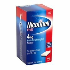 Nicotinell Fruit 4mg Gum - 96 Pieces
