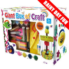 Giant Box of Crafts | Play House | Hobby Craft | Rainy Day Fun | 1000+ Pieces
