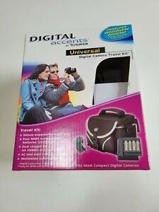 Deluxe Universal Digital Camera Travel Kit, Digital Accents, Missing Bag, Fuji