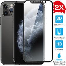 2 x iPhone 11 Pro 3d FULL COVER carri armati PELLICOLA PROTETTIVA VETRO Echt Glas Pellicola 9h