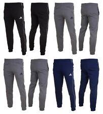Adidas Core 18 Boys Fleece Bottoms Tracksuit Training Kids Sweat Pants Joggers