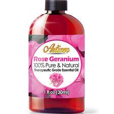 Artizen Rose Geranium Essential Oil (100% PURE & NATURAL - 1oz / 30ml