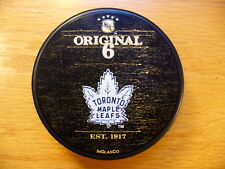 NHL Toronto Maple Leafs Original 6 NY Sports Museum Hockey Puck Collect Pucks