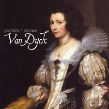 VAN DYCK : PORTRAITS MUSICAUX - A MUSICAL PORTRAIT / CD - NEU/UNVERSIEGELT