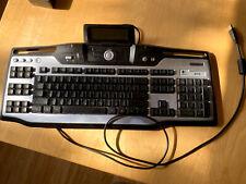 Logitech G15 Gaming Keyboard Wired USB LCD Screen Model Y-UG75