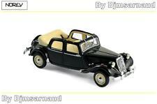 Citroën 15/6 Découvrable A.E.A.T de 1951 Black NOREV - NO 153022 - Echelle 1/43
