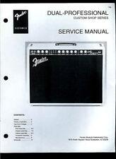 Copy Fender Dual Professional Guitar Amplifier Parts List & Schematic(s)