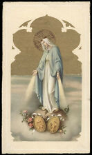 "santino-holy card""""ediz. NB serie 1-713 MADONNA DELLA MEDAGLIA"