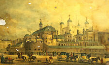 Thomas Sheperd, The Tower Of London, From Tower Hill, Vintage Print
