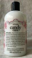 Philosophy Candy Cane Shampoo, Shower Gel & Bubble Bath 16 fl oz New.