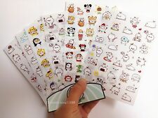6 sheet budding pop Diary Planner notebook Scrapbook Kawaii Decorative stickers
