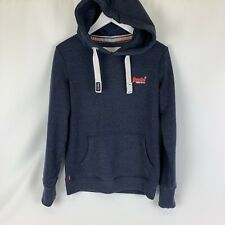 Superdry Blue sweatshirt Hoody Good condition size small Mens