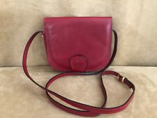 L'Artigiano Firenze NWOT Hand Made in Florence red Leather Crossbody Bag