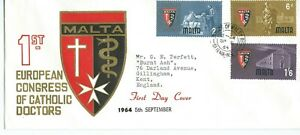 1st European Congress of Catholic Doctors First Day Cover 1964