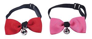 Collier avec clochette costume noeud papillon chien ou chat accessoires animaux