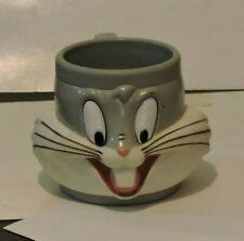 Looney Tunes Bugs Bunny 3D Face Cup Vintage 1989 Applause