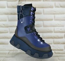 CAMPER LAB Wilma Extreme Womens Leather Platform Boots Punk NEW Size 6 UK 39 EU