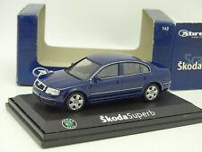 Abrex 1/43 - Skoda Superb Bleue m