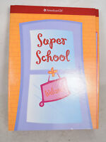American Girl Doll Super School Room Play Set Backpack Stickers Test Papers