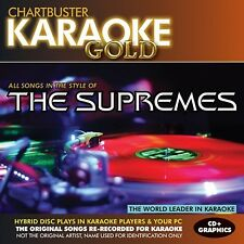 Karaoke Gold: Songs in the Style of The Supremes [CD]