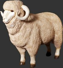 Merino Ram  animal figurine -Life Size
