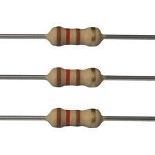 10 x 120 Ohm Carbon Film Resistors - 1/2 Watt - 5% - 120R - Fast USA Shipping