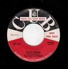 RARE DOOWOP-FIVE REASONS-CUB 9006-GO TO SCHOOL/THREE O'CLOCK ROCK
