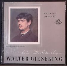 ANGEL RECORDS 35250 DEBUSSY PLAYED BY GIESEKING ETUDES US PRESS EX++/NM
