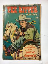 Tex Ritter Western #22 FA/G 1953 Fawcett comic